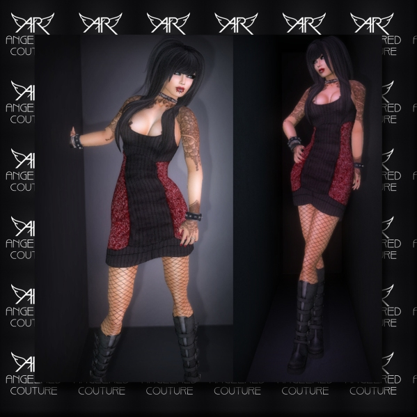 AngelRED - FULL PERM Mesh Mixie Dress [BASIC VERSION]