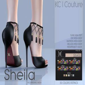 -KC- SHEILA HEELS _ SLINK, MAITREYA, BELLEZA, TMP, EVE