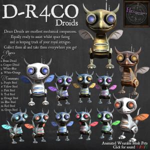 _HEXtraordinary_ D-R4CO Droids Poster 1024