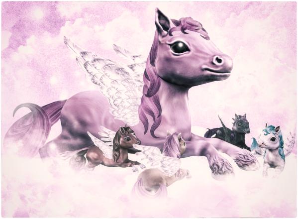 HEXtraordinary Pegasus Ponies